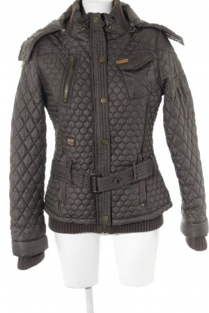 Khujo Winterjacke khaki Casual-Look