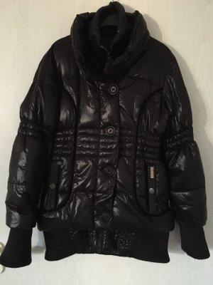 Khujo Winterjacke Kurzmantel XL schwarz