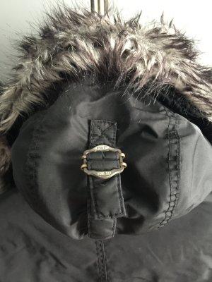 Khujo Winterjacke, Parka, schwarz, XL