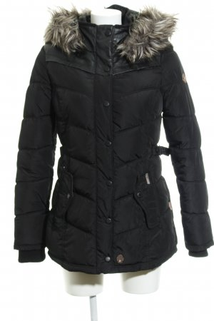 Khujo Winterjacke schwarz Steppmuster klassischer Stil