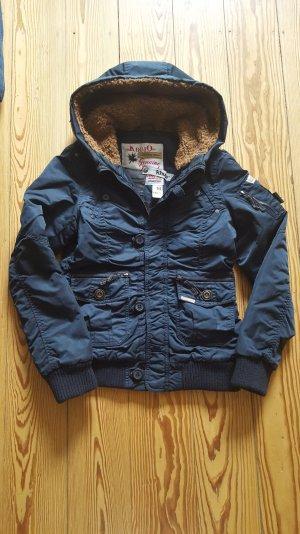 Khujo Winterjacke Style MIA dunkelblau