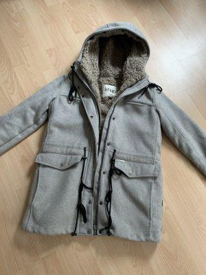 Khujo winterjacke wollmantel Mantel Jacke top Zustand gr xl