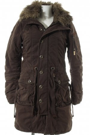 Khujo Wintermantel mehrfarbig Casual-Look