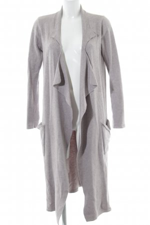 Khujo Wool Jacket light grey flecked casual look