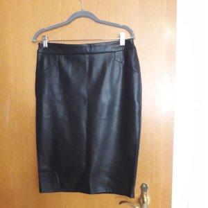 Kiabi Woman Pencil Skirt black imitation leather