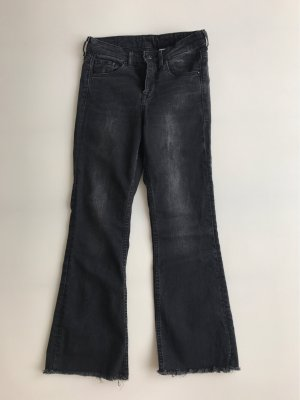 H&M 7/8 Length Jeans dark grey-black