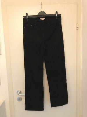 H&M Jeans a 7/8 nero