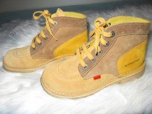 Kickers Low boot multicolore cuir