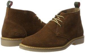 Kickers Chaussures à lacets brun daim