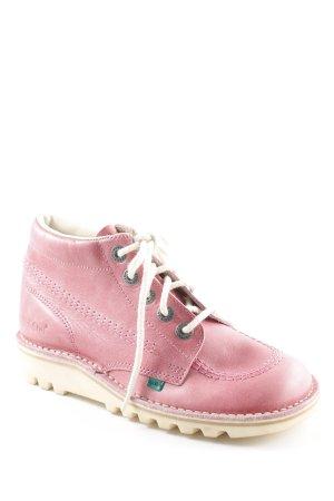 Kickers High Top Sneaker rosa Casual-Look