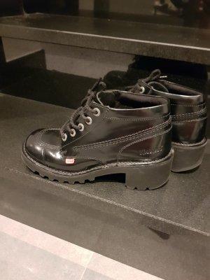 Kickers Leder Boots, neuwertig
