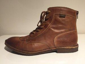 Kickers Chukka boot bronze cuir