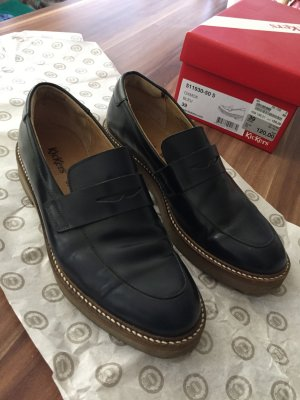 Kickers Oxford Schuhe Modell Oxmod blau Gr. 39 wie neu