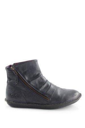 Kickers Reißverschluss-Stiefeletten schwarz Casual-Look