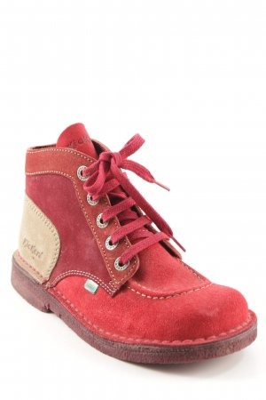 Kickers Lace-up Booties multicolored casual look