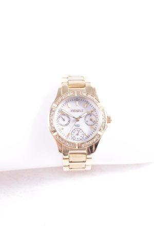 Kienzle Uhr mit Metallband goldfarben Eleganz-Look