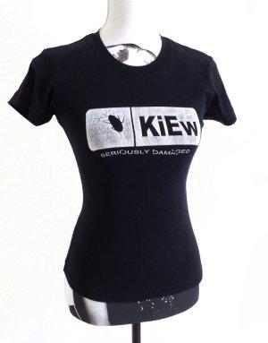 "KIEW Gothic EBM Industrial Merchandise Print Shirt Top ""S"""