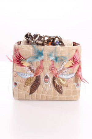 Kiki main Henkeltasche with feathers