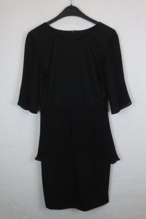 Kilian Kerner Kleid Etuikleid Gr. XS schwarz (18/4/341)