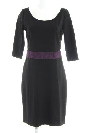 Kilian Kerner Senses A-Linien Kleid schwarz-purpur klassischer Stil