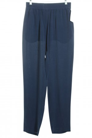 Kilian kerner Stoffhose dunkelblau minimalistischer Stil