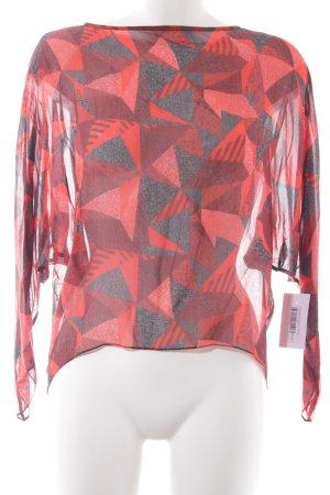 Kilian kerner Transparenz-Bluse Mustermix Elegant