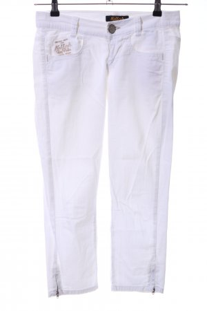 Killah 3/4 Length Jeans white casual look