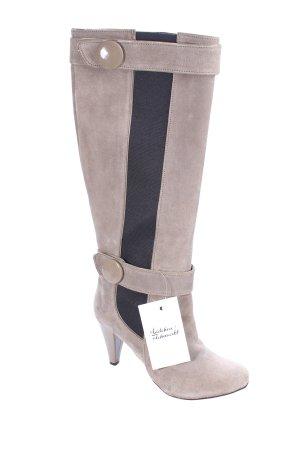 Killah Absatz Stiefel schwarz-hellbeige Elegant