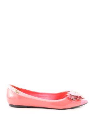 Killah Ballerinas mit Spitze pink Casual-Look