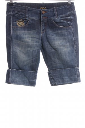 Killah Bermudas blue casual look