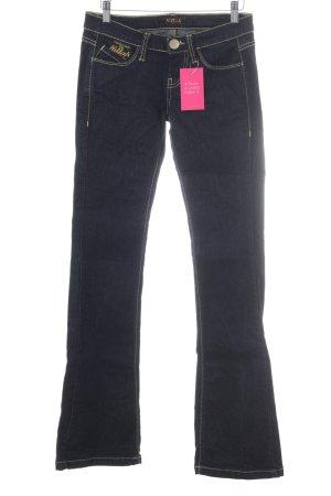 Killah Boot Cut Jeans dunkelblau Casual-Look
