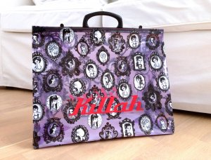 KILLAH by Miss Sixty Tasche Shopper Tüte Design Gothic
