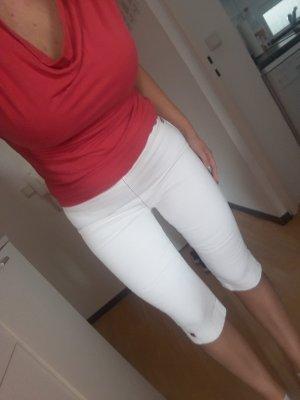 Killah Pantalon 3/4 blanc-rouge