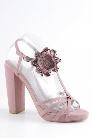 Killah High Heel Sandal dusky pink romantic style