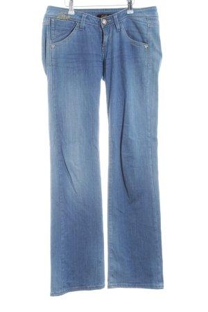 Killah Jeansschlaghose mehrfarbig Jeans-Optik