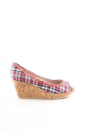 Killah Wedge Pumps allover print business style