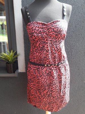 Killah Leo Kleid Pink Leoparden Muster sexy