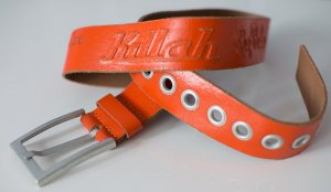 KILLAH ~ MADE IN ITALY LEDER GÜRTEL ~ SIZE 108