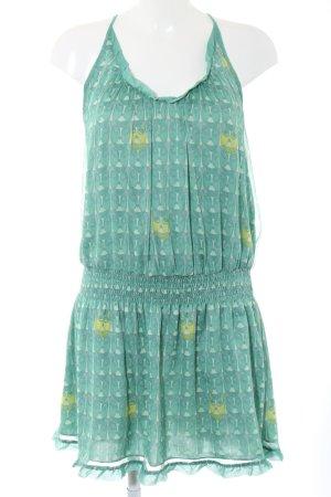 Killah Halter Dress themed print casual look