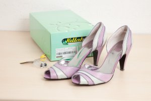 Killah Peep Toes Gr 39 Lila - Rosa im Vintage Look, Pumps, High Heels, Retro, Blogger, Zara