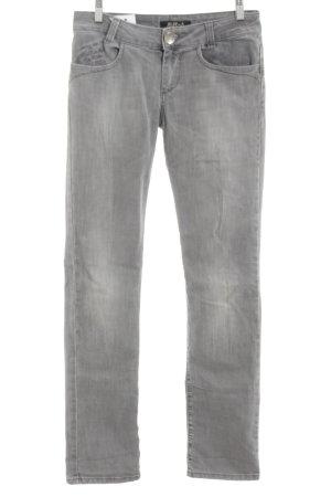 Killah Skinny Jeans hellgrau Farbverlauf Jeans-Optik