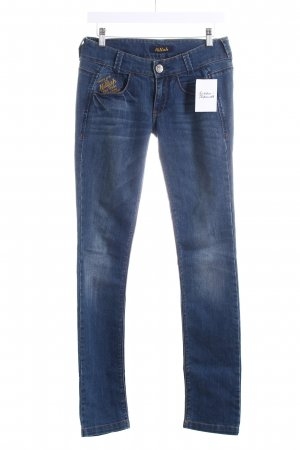 Killah Skinny Jeans blau Used-Optik