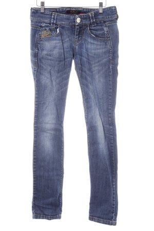 Killah Skinny Jeans kornblumenblau Casual-Look