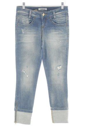 Killah Skinny Jeans stahlblau Casual-Look