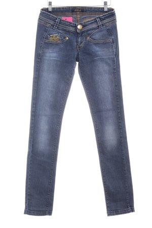 Killah Slim Jeans stahlblau Casual-Look