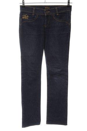 Killah Straight-Leg Jeans schwarz-goldfarben Casual-Look