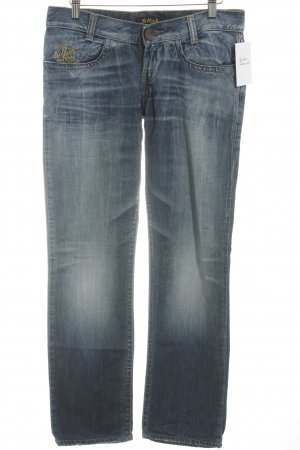 Killah Straight-Leg Jeans blau Bleached-Optik