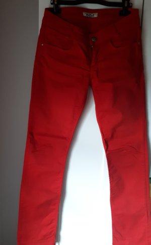 Killah Jeans a gamba dritta rosso Cotone