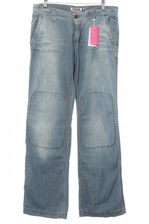 Killah Straight-Leg Jeans hellblau Washed-Optik