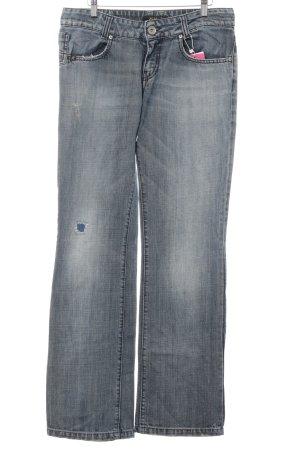 Killah Straight-Leg Jeans stahlblau Washed-Optik